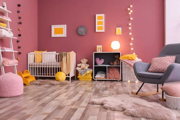 Ý tưởng trang trí phòng ngủ dễ thương cho bé