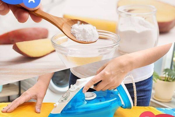Tẩy gỉ sét bằng baking soda, bạn đã  biết chưa?