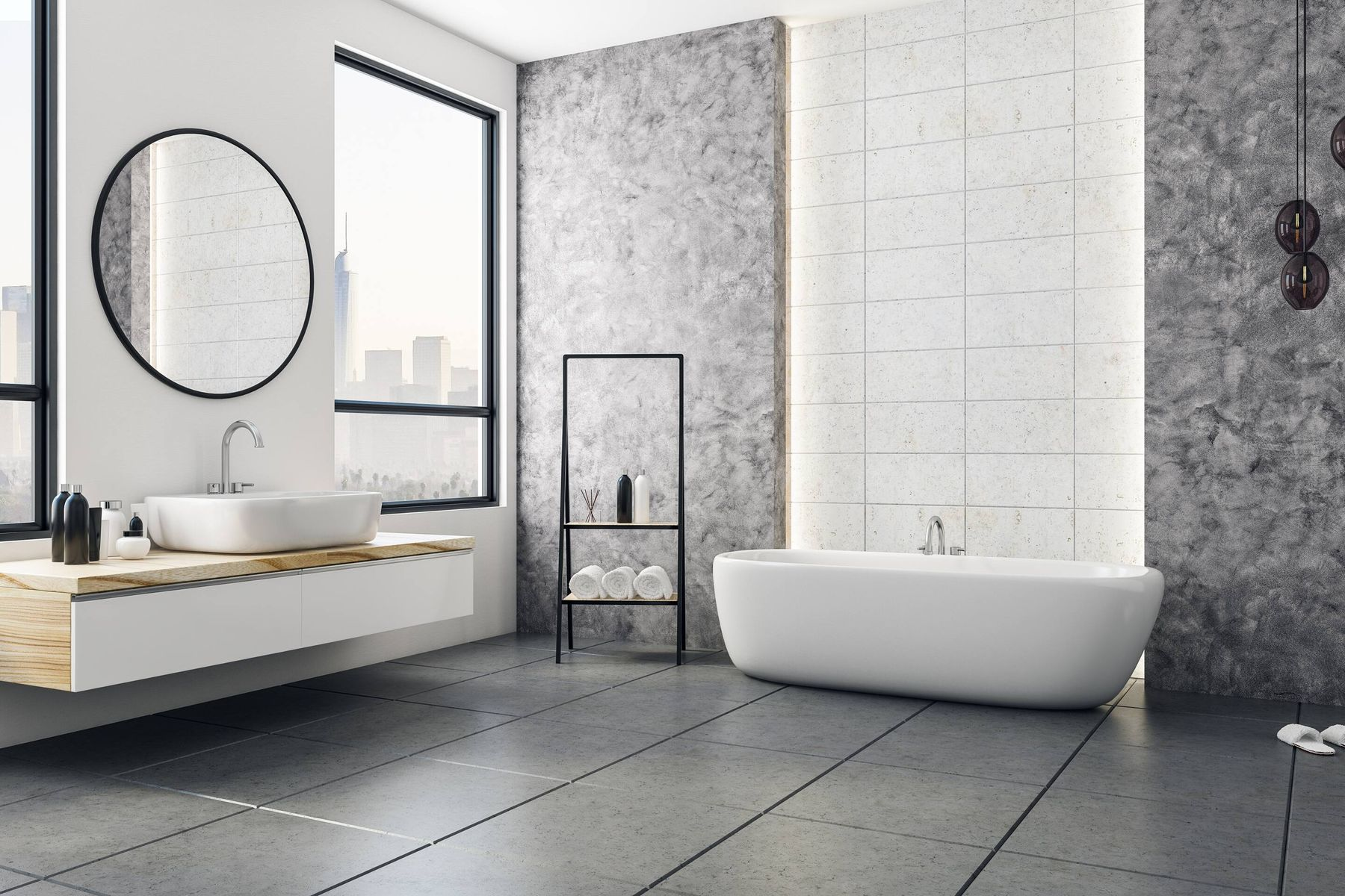 Ổ vi khuẩn trong nhà tắm hình thành do những nguyên nhân sau