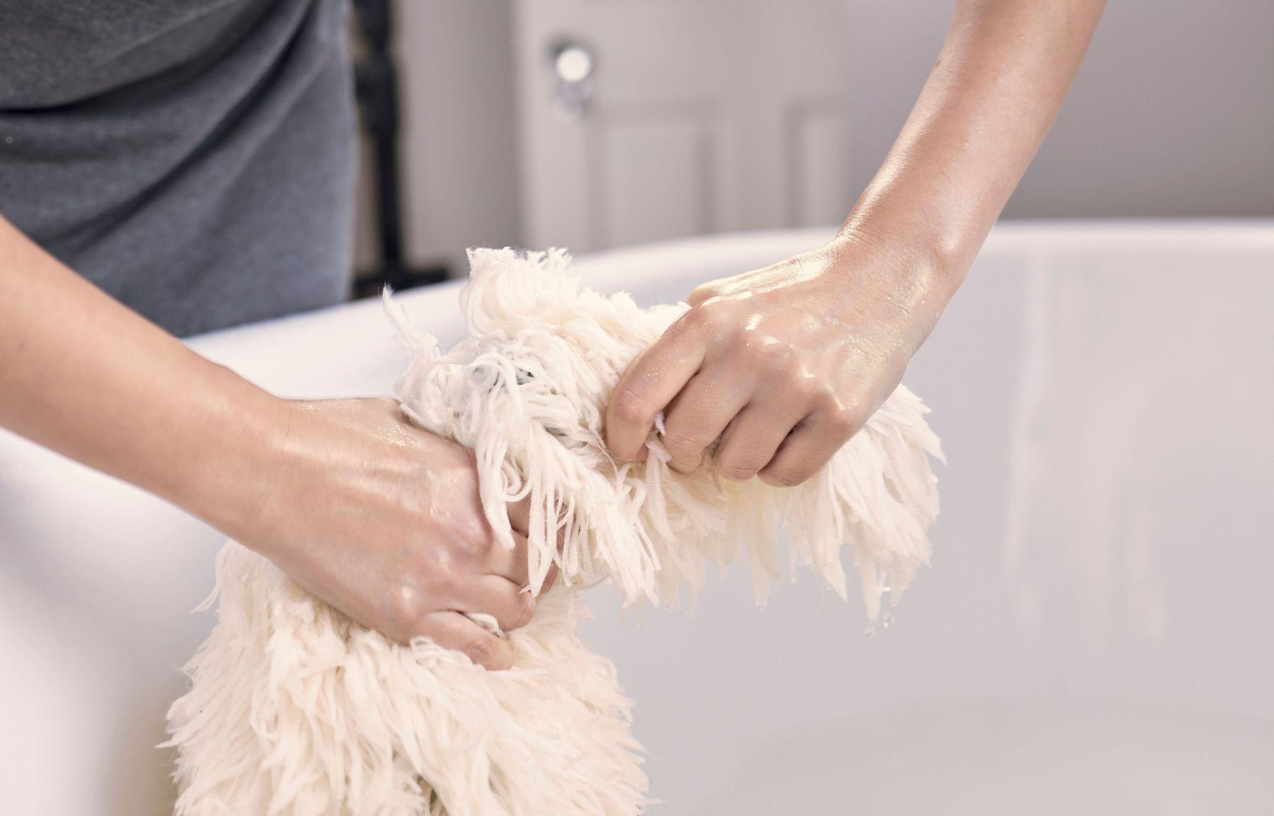 cara mencuci karpet menghilangkan noda bau karpet
