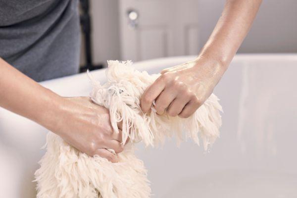 Влажная уборка для спаасения от вирусов