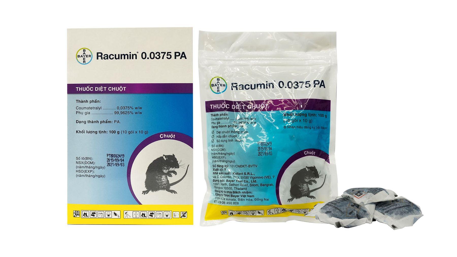 Thuốc diệt chuộtRacumin Bayer