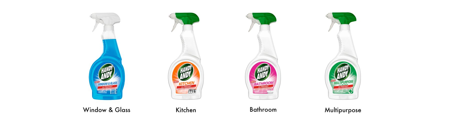 Handy Andy Spray Cleaners