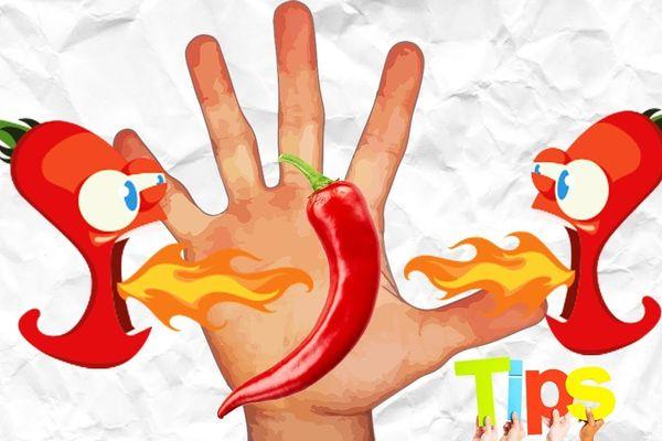 Cách chữa bỏng ớt ở tay