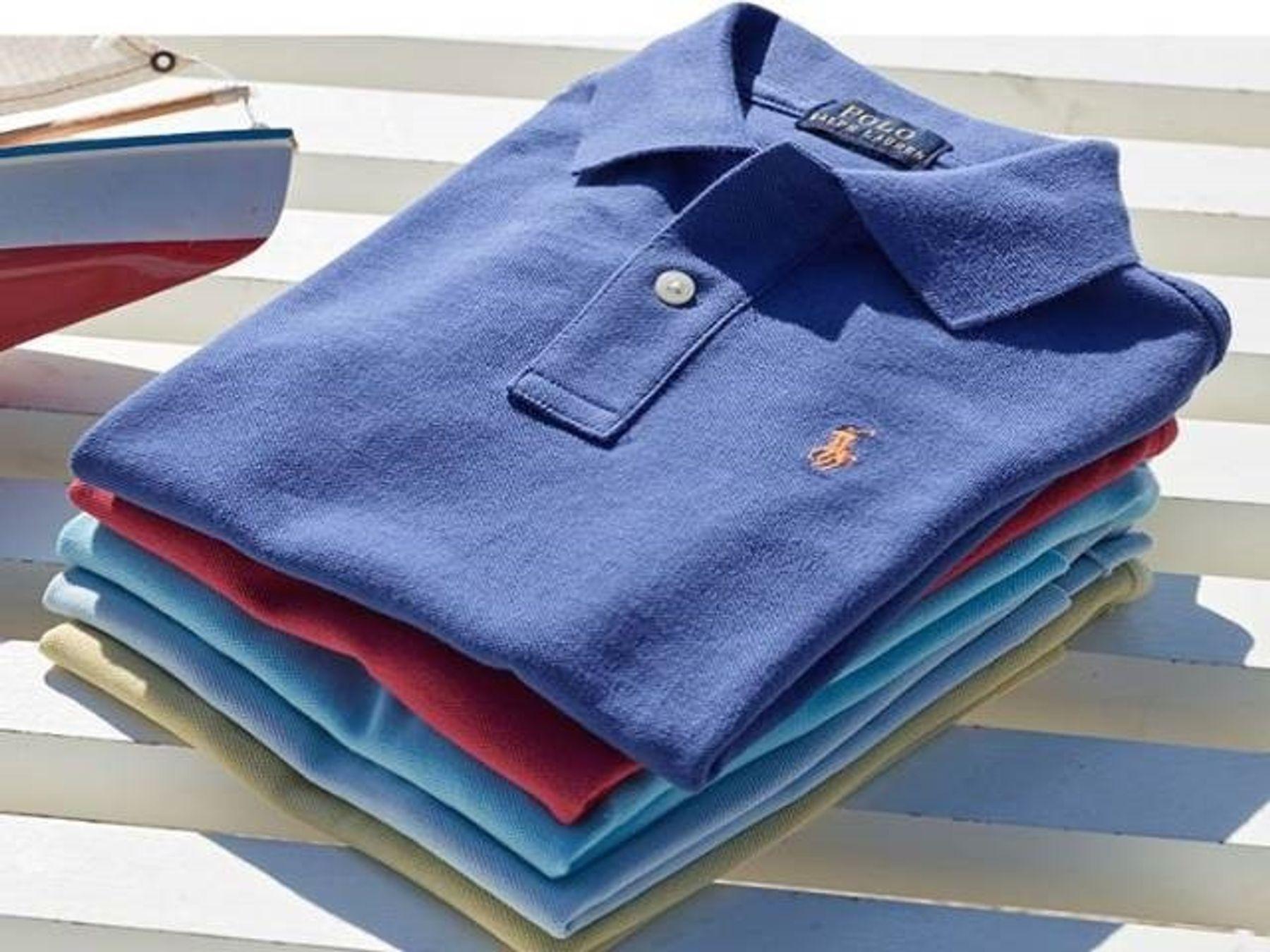 Cách xếp áo phông