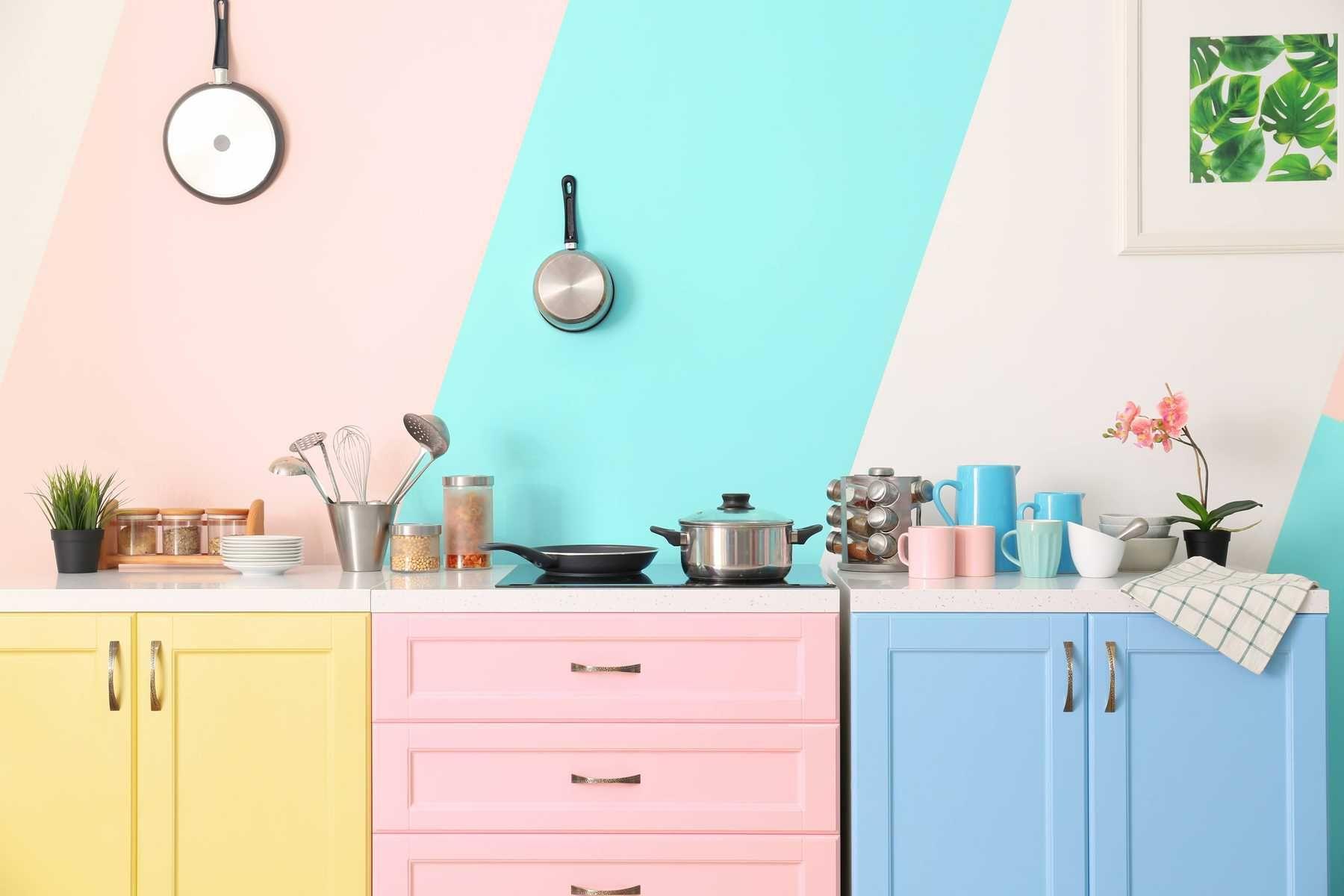 trang trí nhà bếp xinh xắn, dễ thương