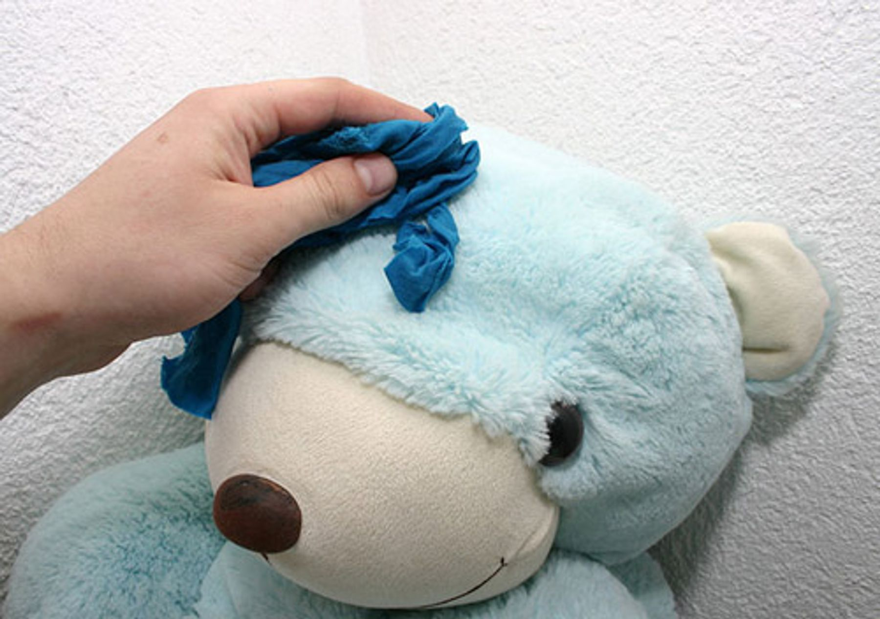 Step 2: Cách giặt gấu bông tại nhà bằng tay