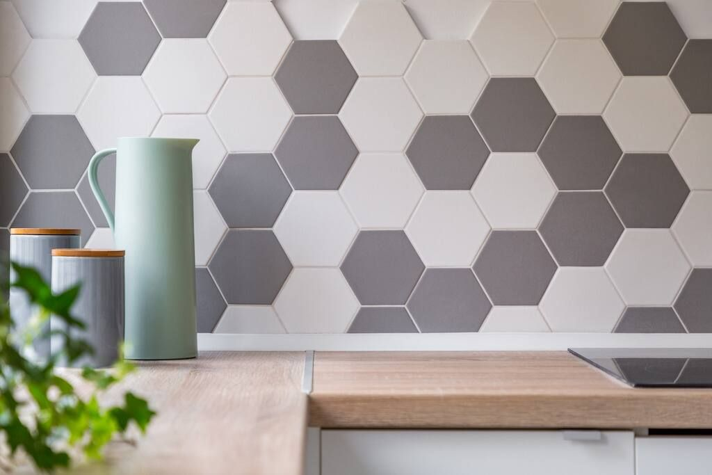 Can you paint over tiles? Tiled kitchen wall