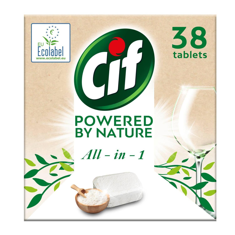 cif tablety do mycky powered by nature 38 kusu