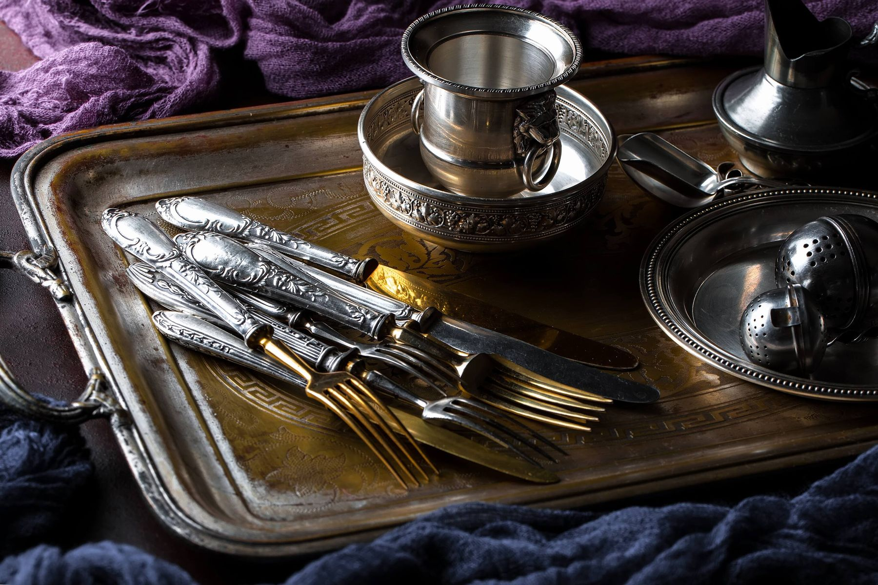 How to clean and care for your beautiful silverware