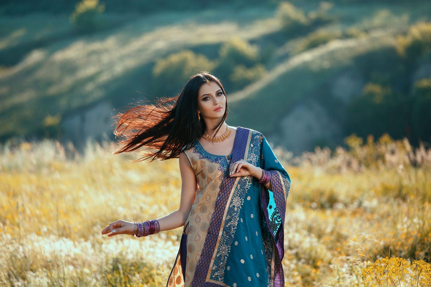 Old saree into a new salwar suit