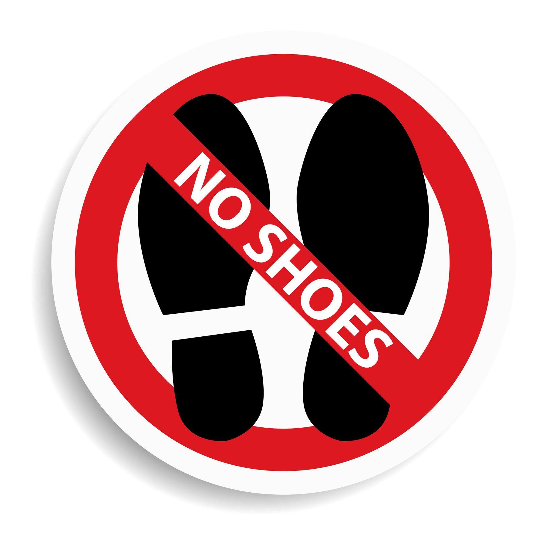No-shoe inside your home