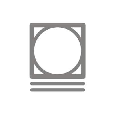 Symbol pro sušení v sušičce na program Jemné