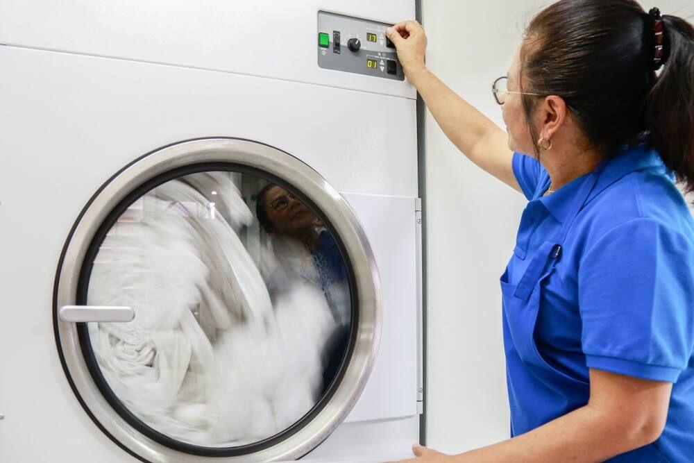 lưu ý khi sử dụng máy giặt sấy khô