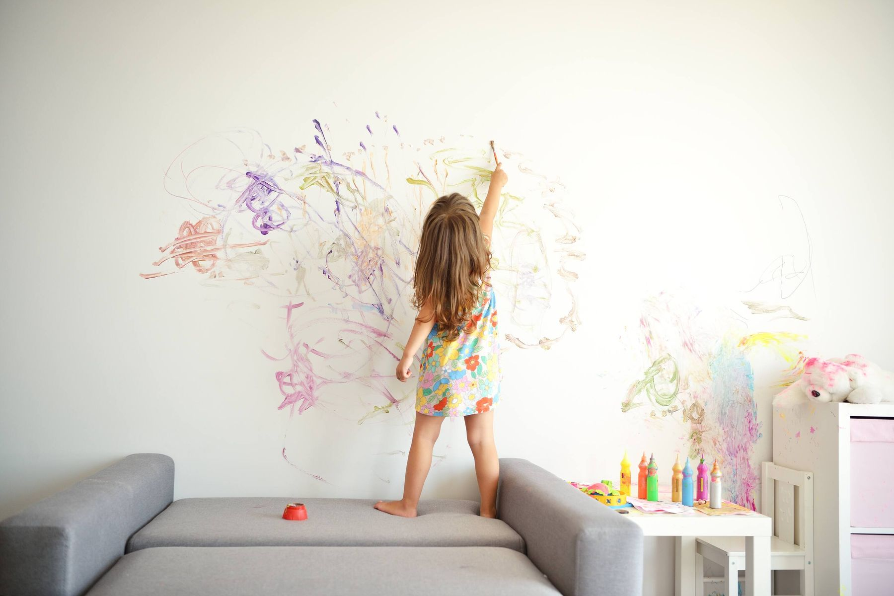 Easy Tips to Clean Your Kids' Scribbles from Your Walls