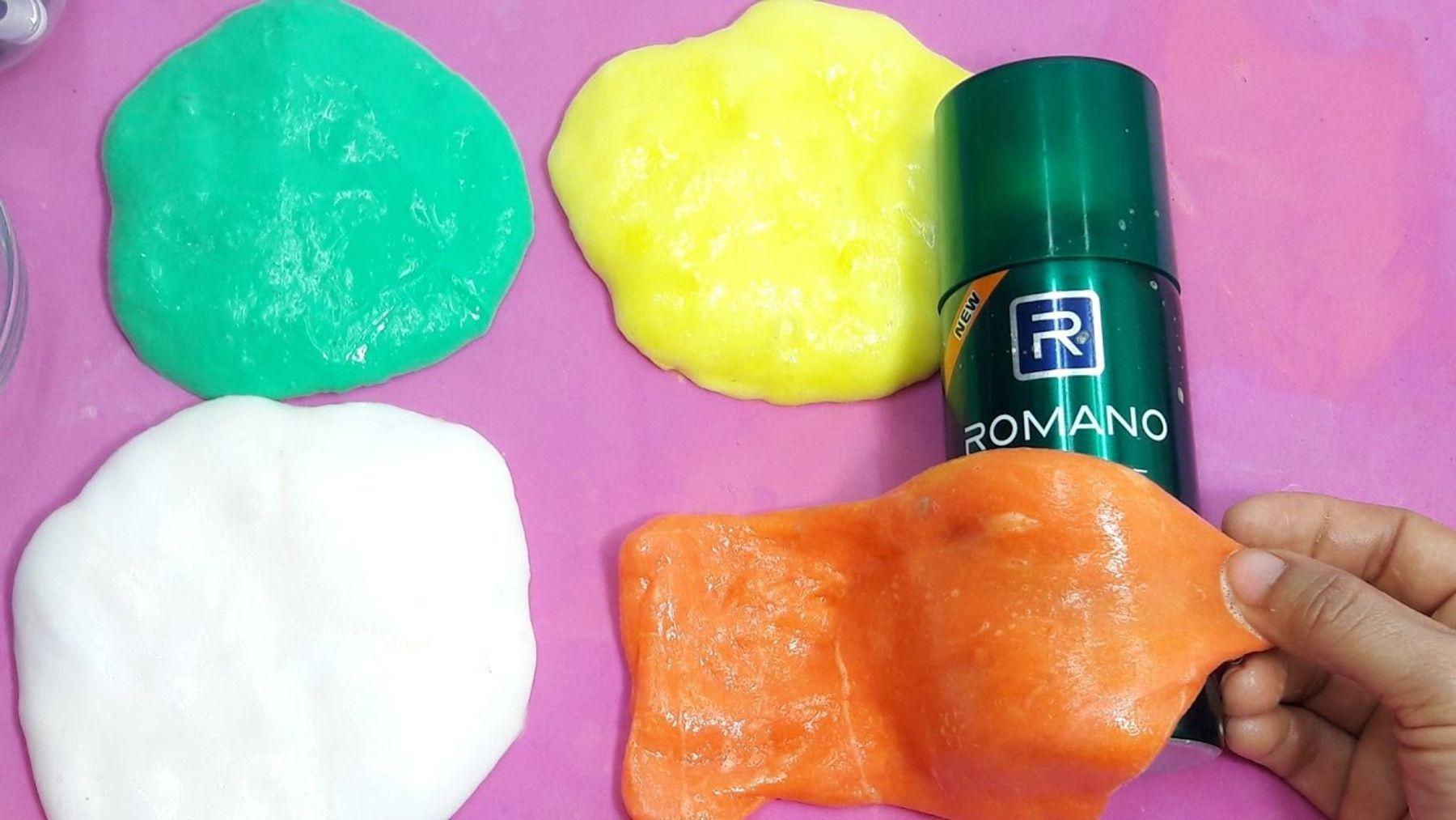 Step 8: Cách làm slime bằng hồ và kem cạo râu rất đơn giản và nhanh chóng