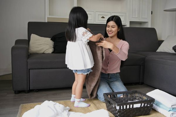 Try These Easy Tips to Get Housework Done as a Family!
