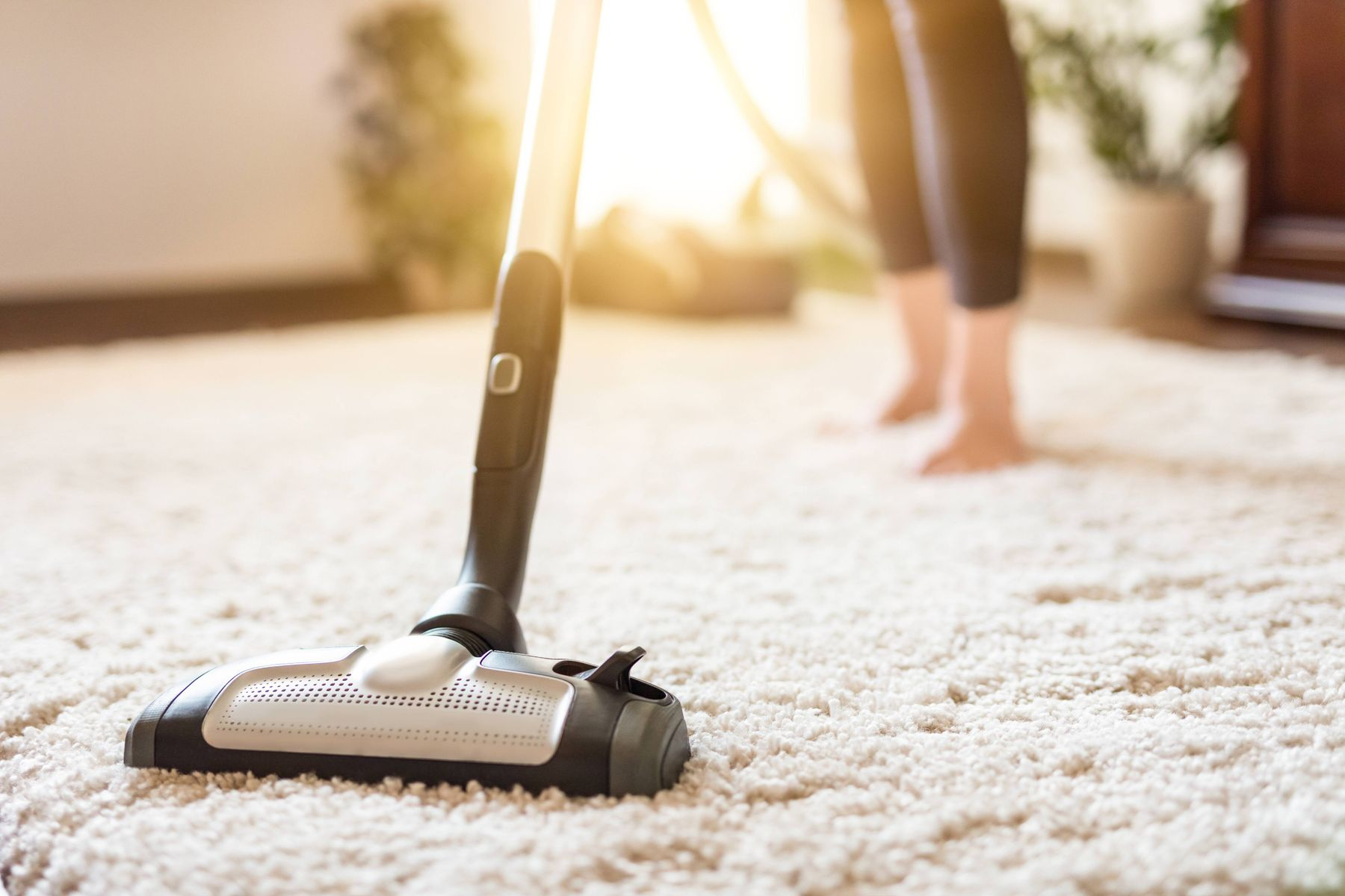 Vacuum cleaner to clean carpets