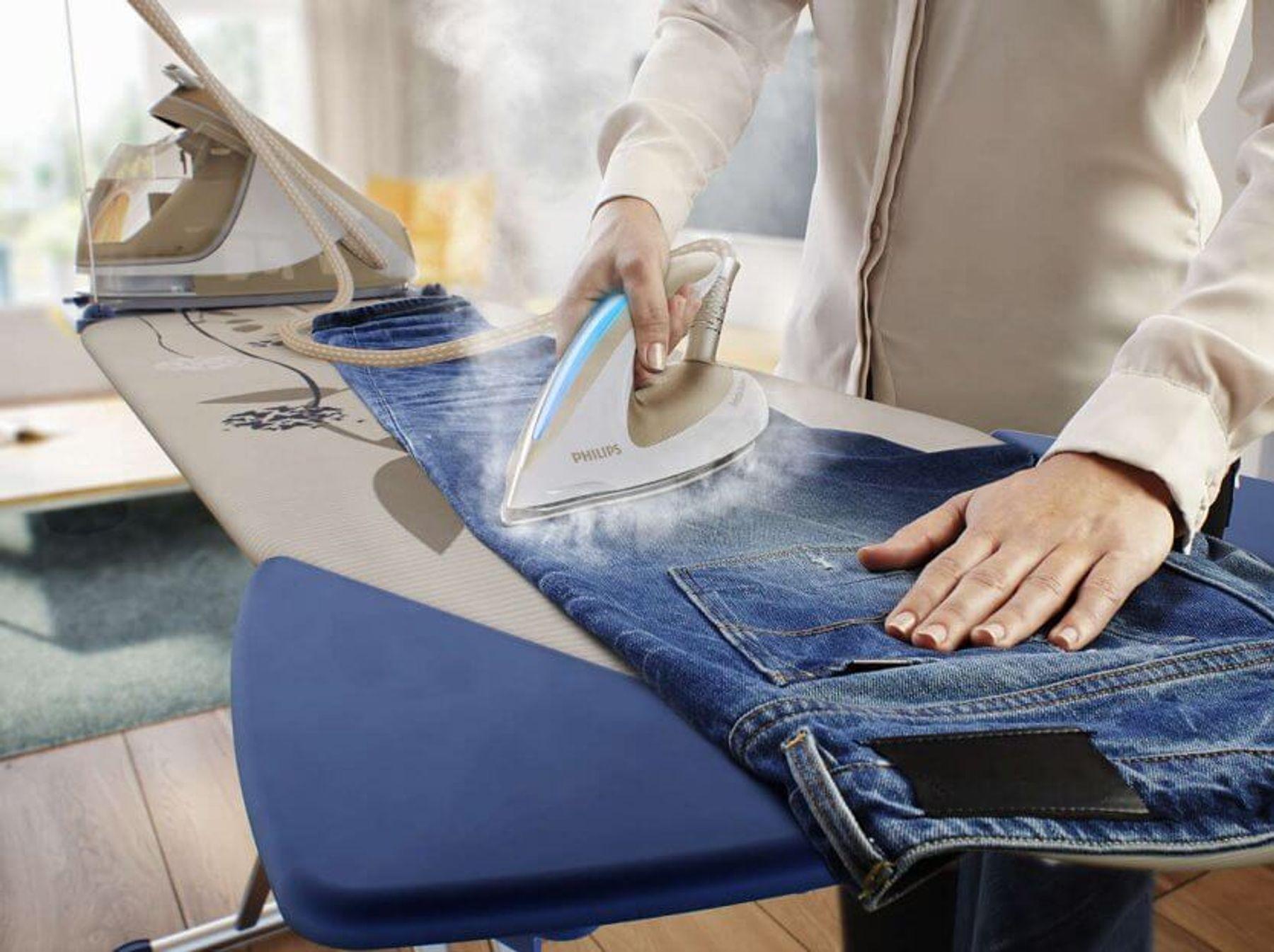 Sấy ủi quần jean ở nhiệt độ thấp