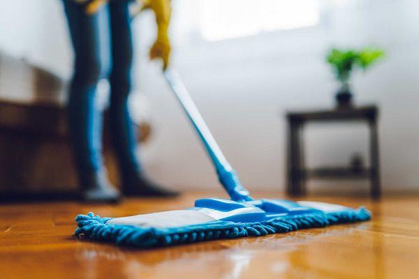 Foto de cómo desinfectar pisos