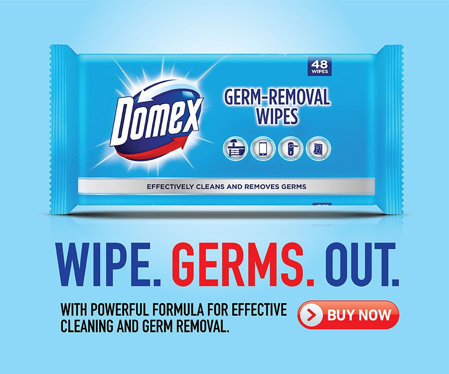 Domex Wipes