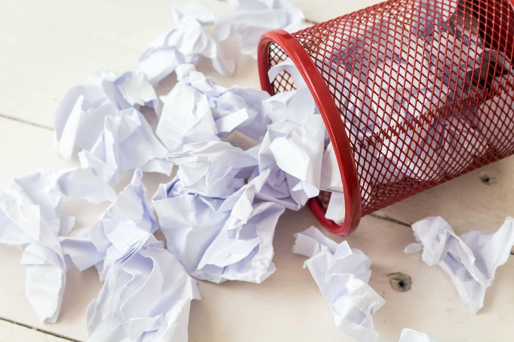 Quy trình tái chế giấy hiện nay