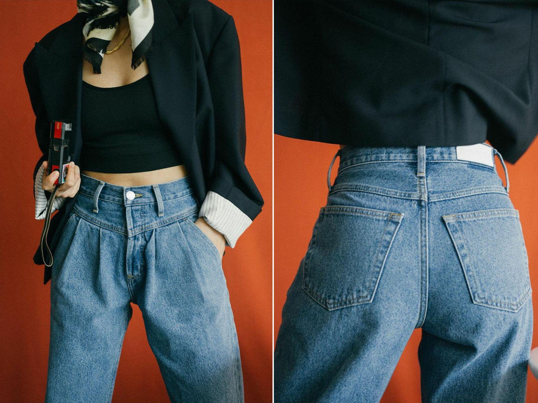 Nhuộm màu quần jean cũ