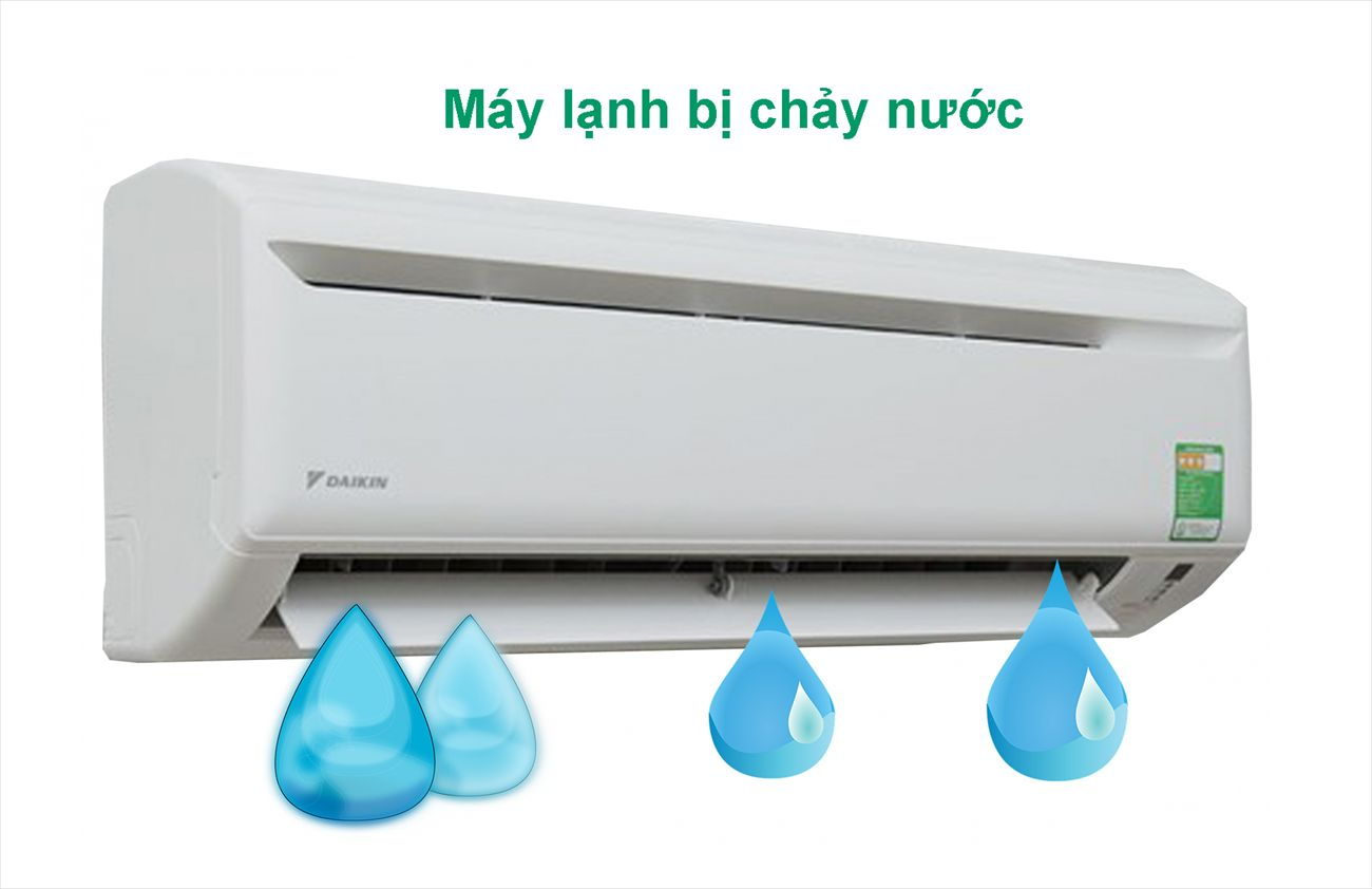 Nguyên nhân máy lạnh không lạnh bao gồm