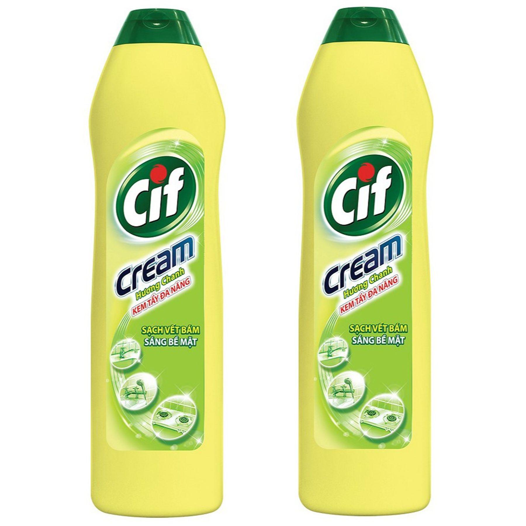 Nước tẩy rửa đa năng CIF hương chanh