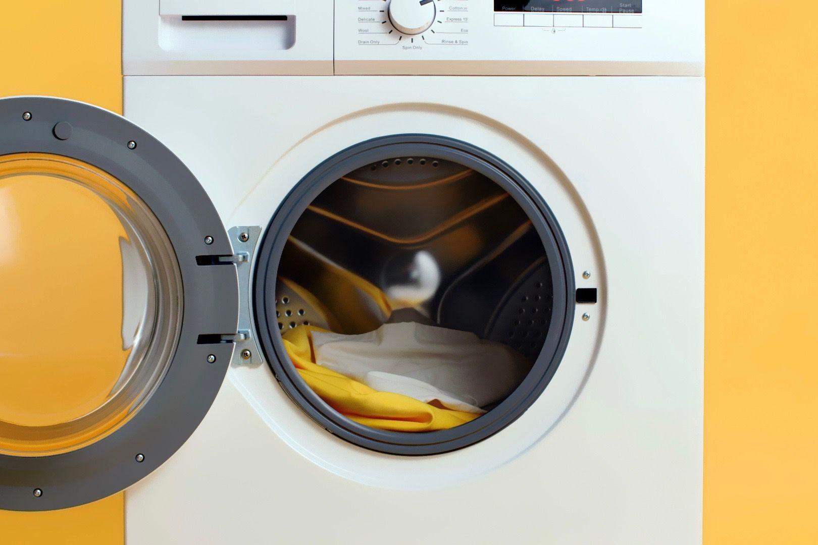 Step 3: A washing machine