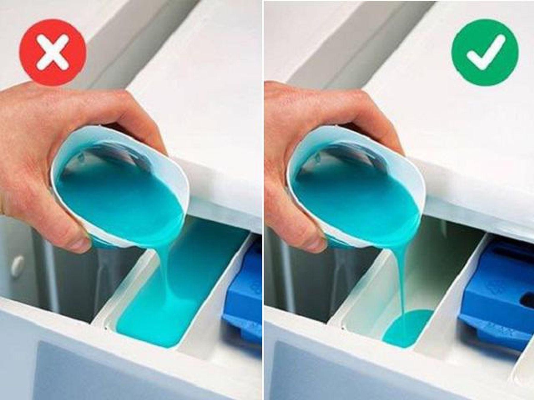 Cách dùng nước xả vải cho giặt máy