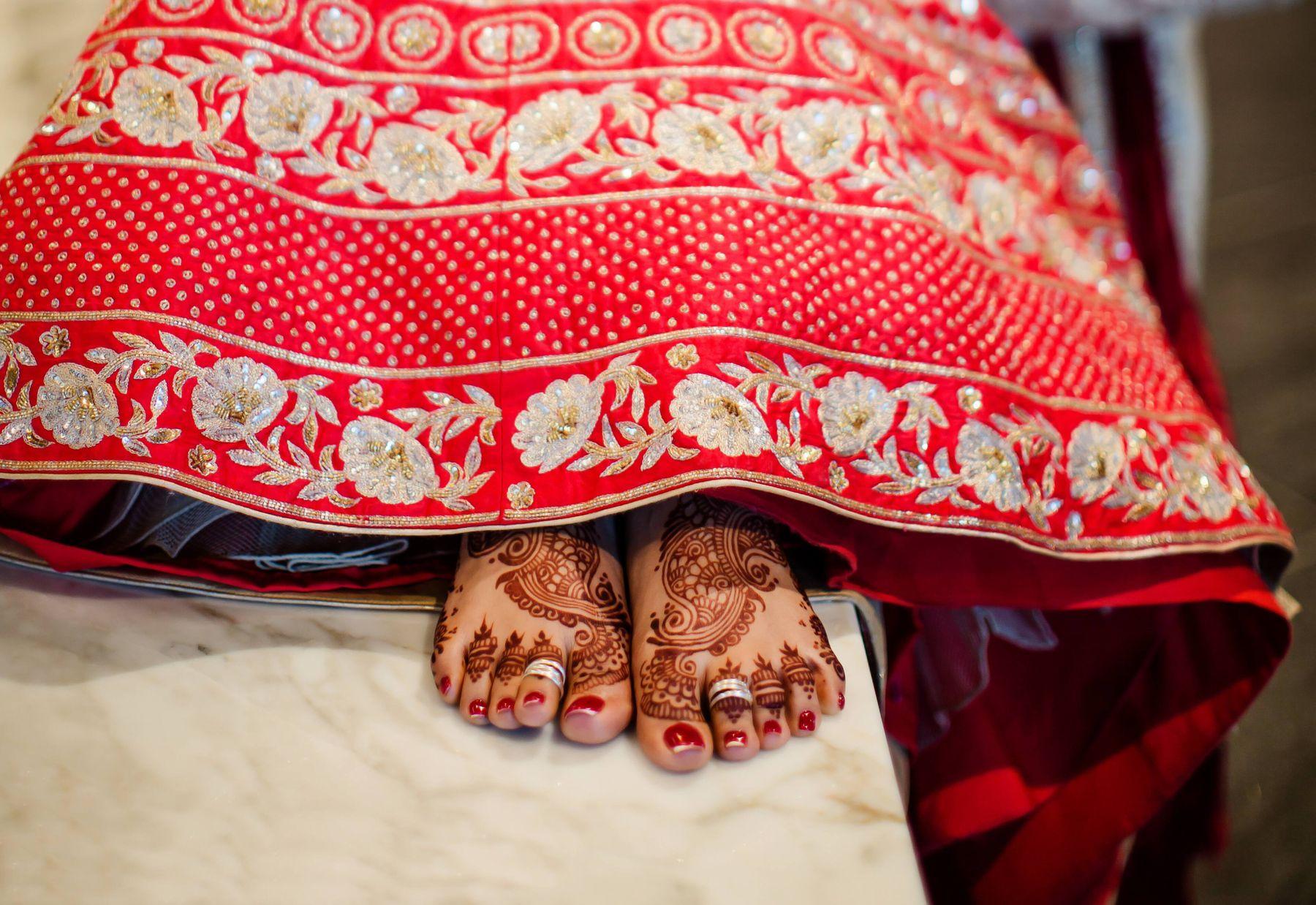 Old saree into a lehenga