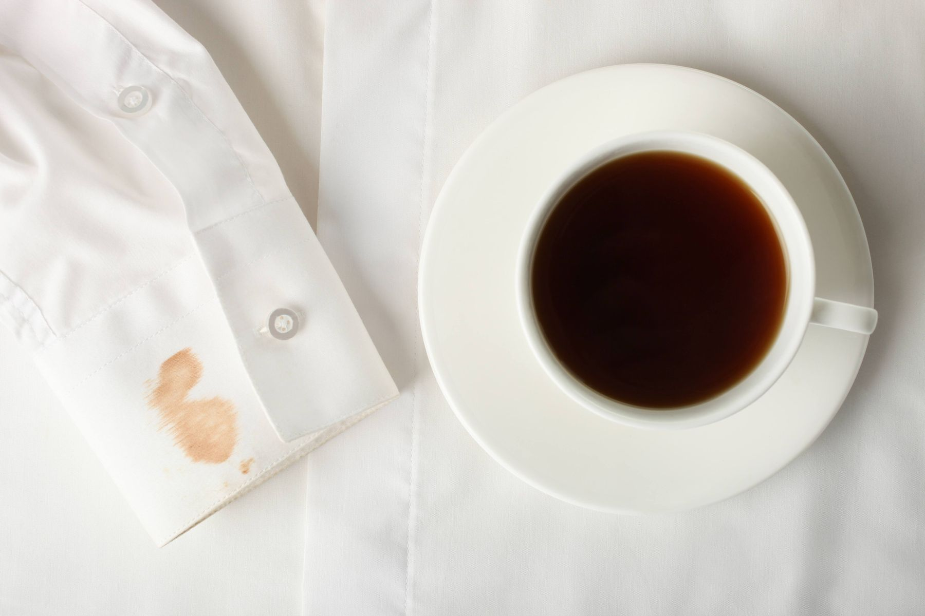 How to Remove Green Tea Stains from your Shirt | Get Set Clean