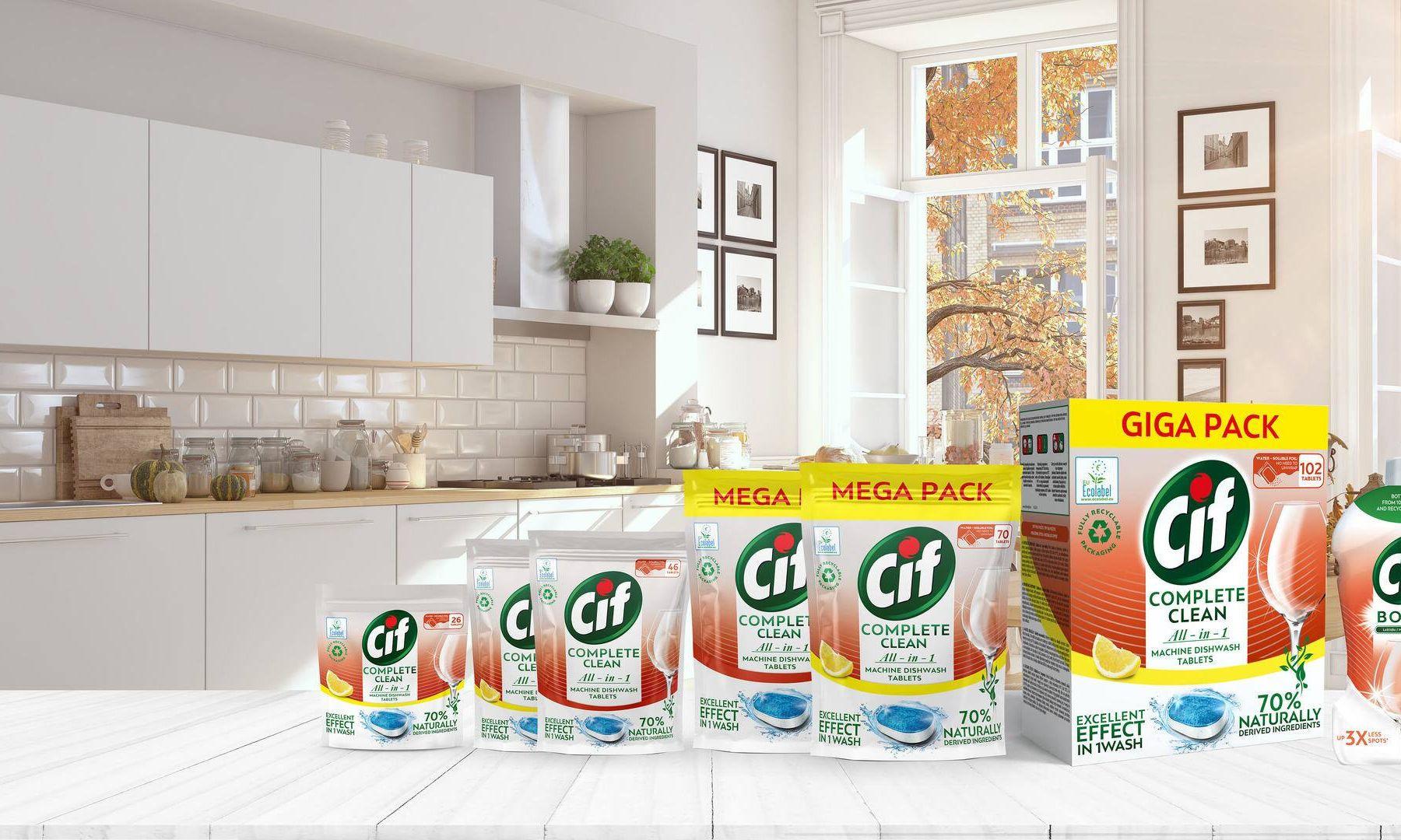 Cif - Čisté nádobí, čistší planeta