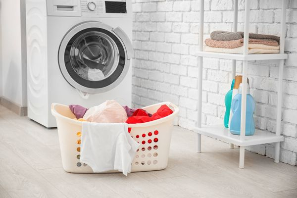 Is your washing machine leaving white marks on your clothes? Here's how you can fix it