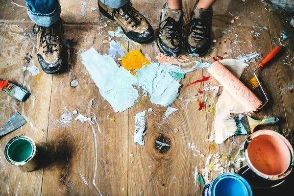 Foto de Cómo quitar manchas de pintura