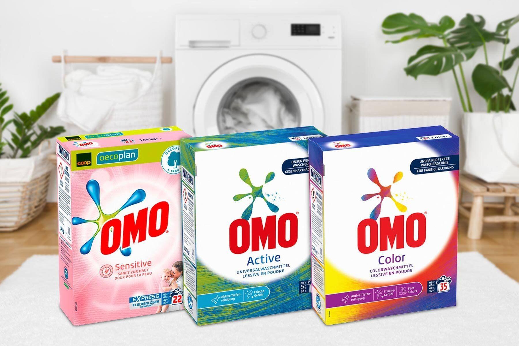 OMO Pulverwaschmittel