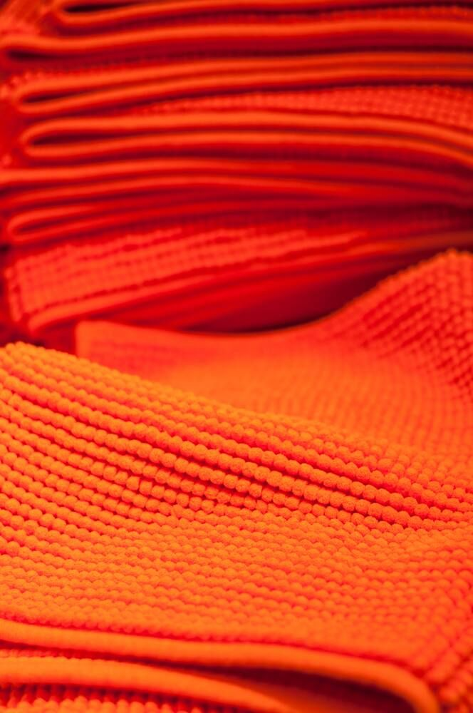 Orange cloths
