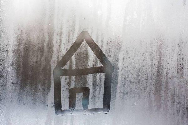 vidrio con condensación