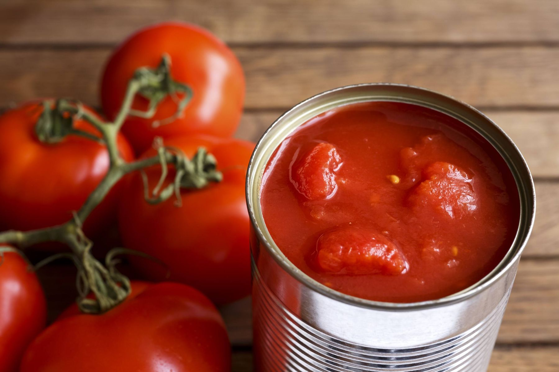 can of chopped tomatoes