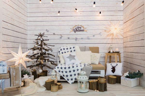 30 dicas para uma decoração de Natal simples e barata
