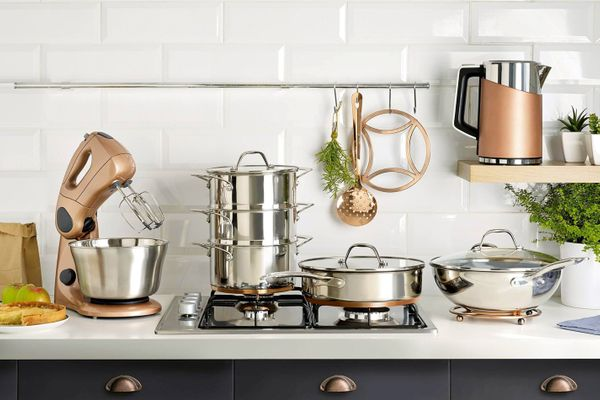 how to clean stainless steel in the kitchen: hob