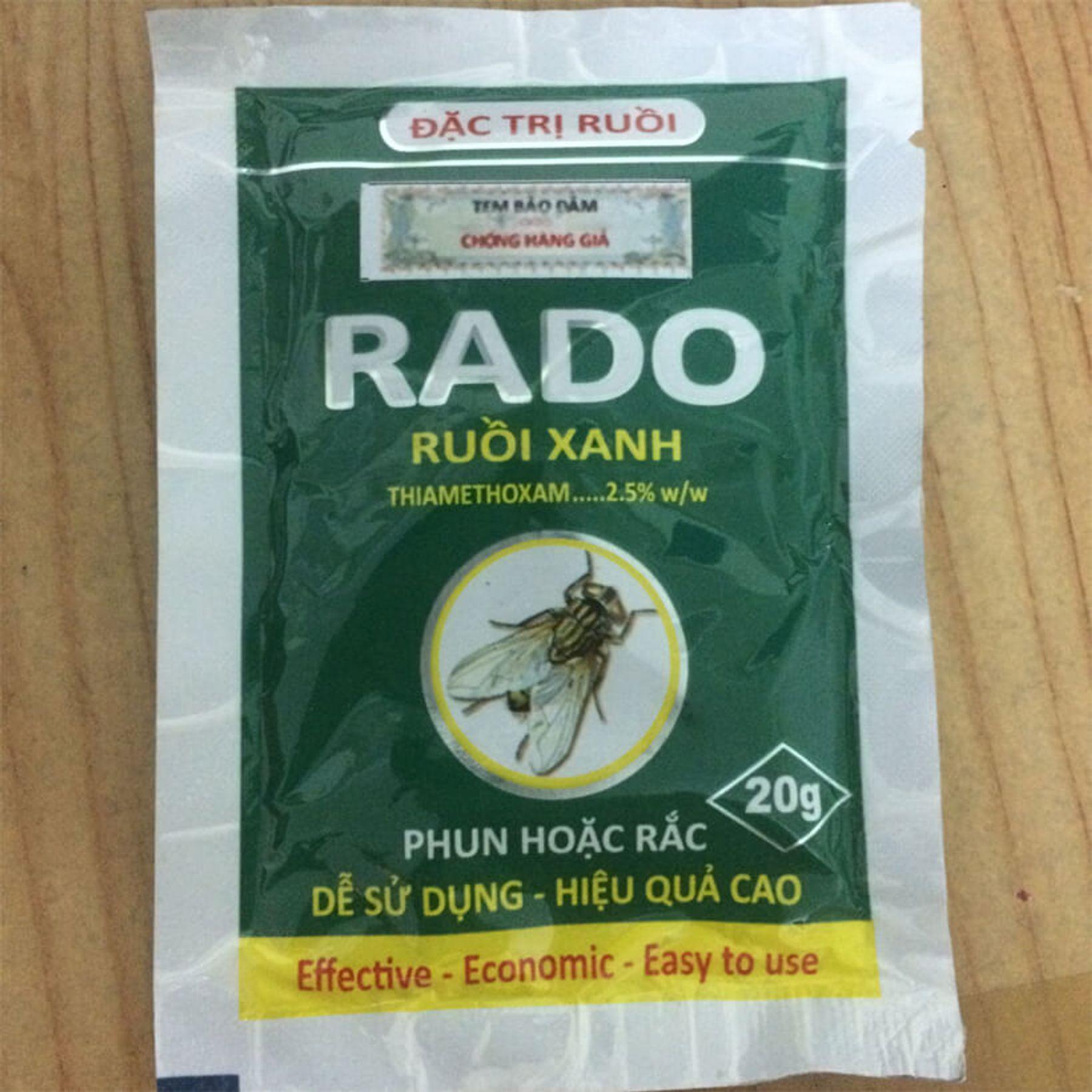 Step 4: thuốc diệt ruồi