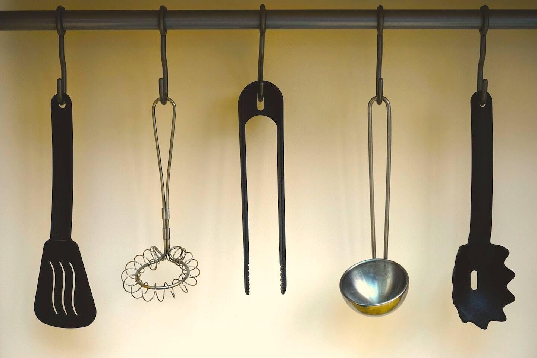 Lista de utensílios de cozinha