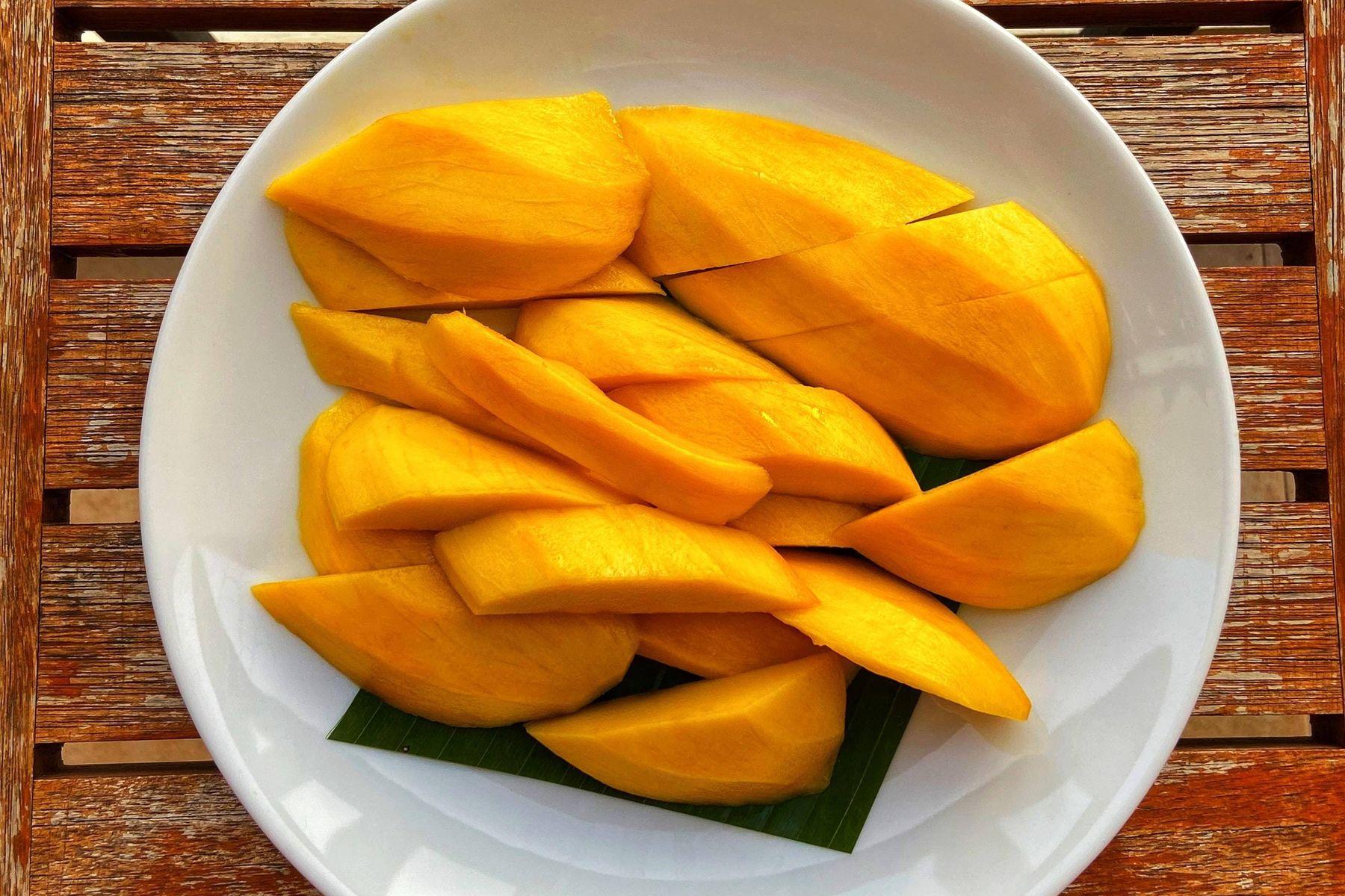 Mangoflecken entfernen