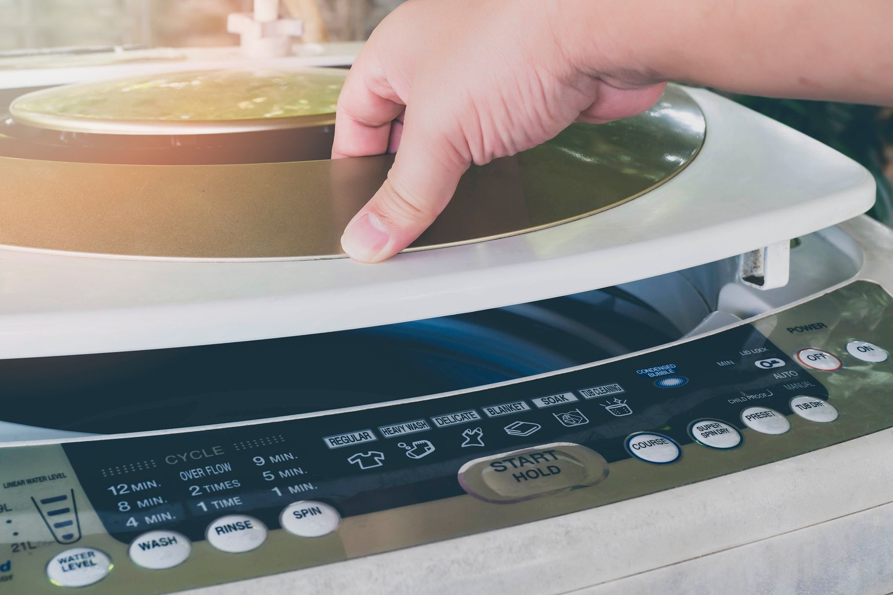 How to Clean Your Top-Loading Washing Machine shutterstock 1045833679