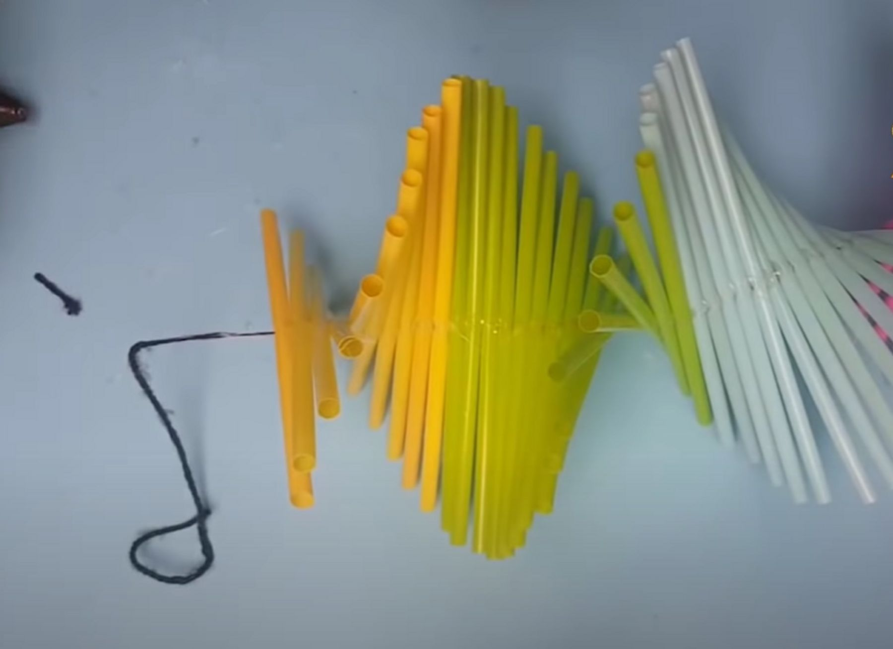 Step 6: tiếp tục thực hiện cho đến khi hết số ống hút