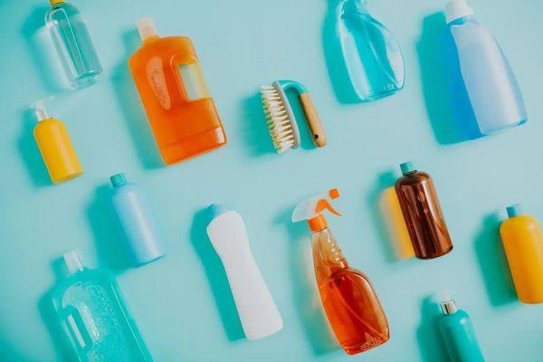 Banyo Temizliği ve Şişeler