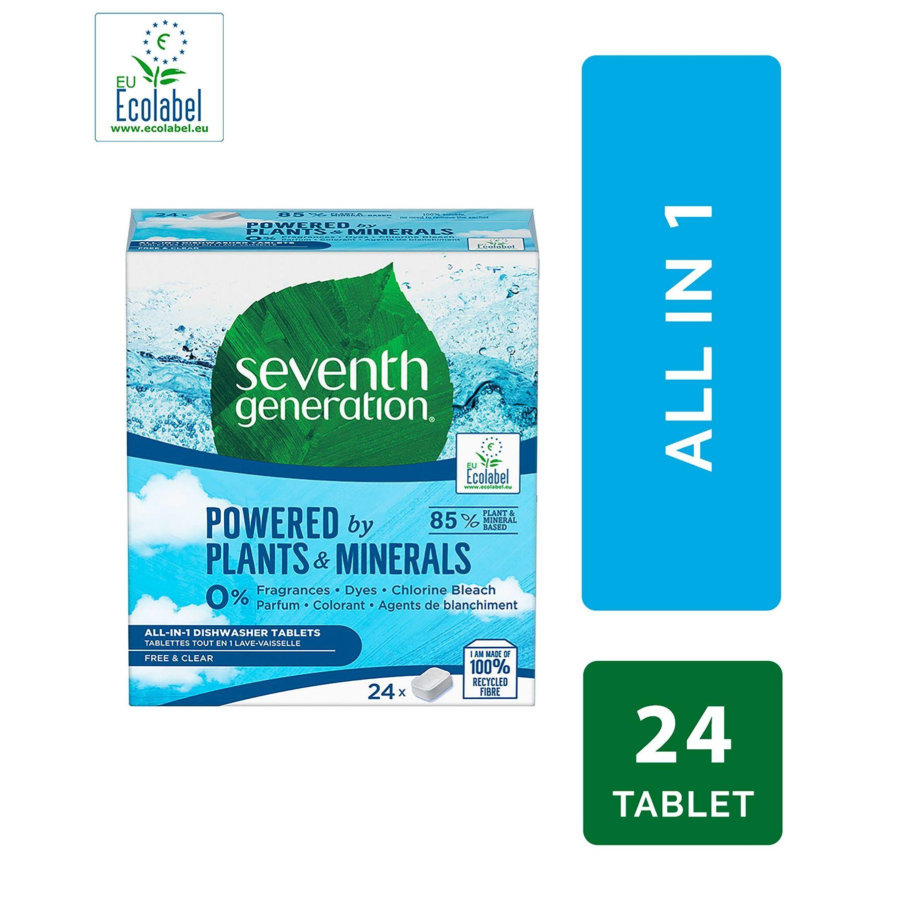 tablety do mycky znacky seventh generation