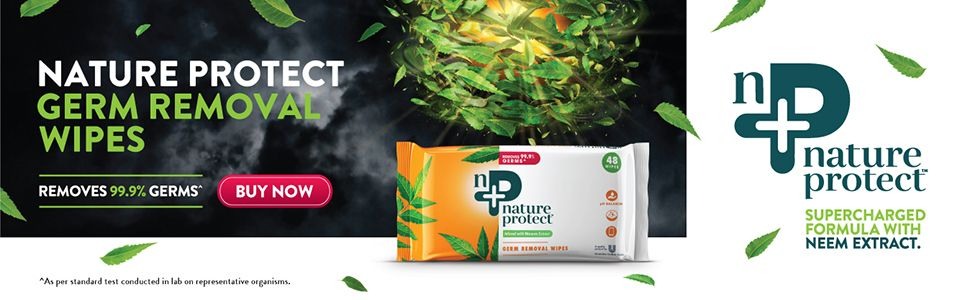 Buy Nature Protect Wipes